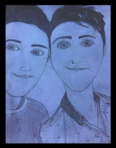 Royce Twins Drawing