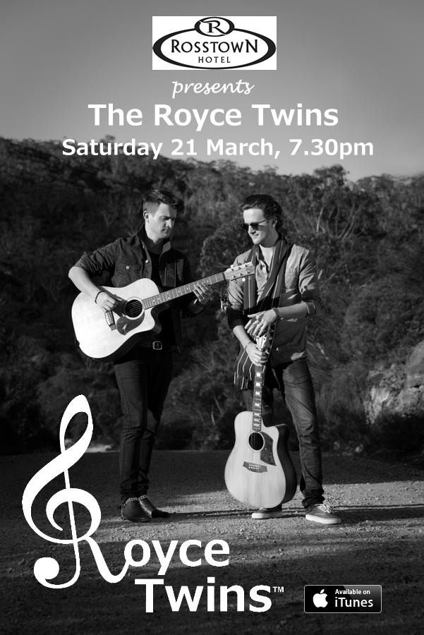 THe Royce Twins - Rosstown Hotel