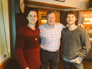 Michael, Denis and Gabriel 3AW 28042015