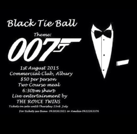 Black Tie Ball - Albury