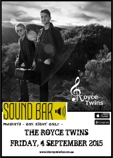 The Royce Twins Poster Soundbar