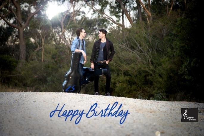 Happy Birthday - The Royce Twins