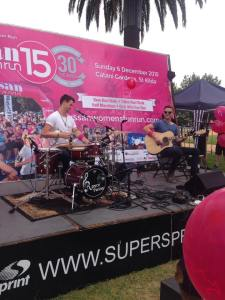 It was great to perform and meet everyone at the 30th Anniversary of the Sussans Women's Fun Run recently, supporting the important work of the Breast Cancer Network Australia.
