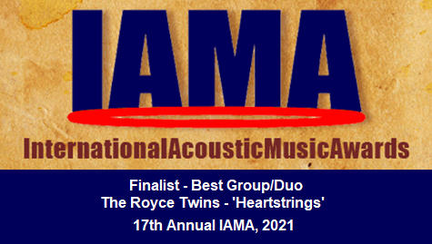 The Royce Twins are finalists in the International Acoustic Music Awards